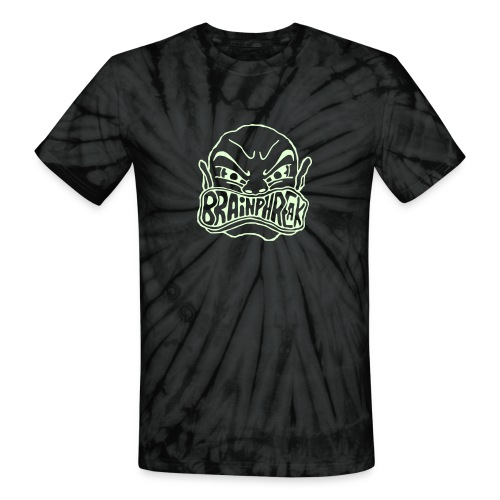 Glow In The Dark Tie Dye! - Unisex Tie Dye T-Shirt