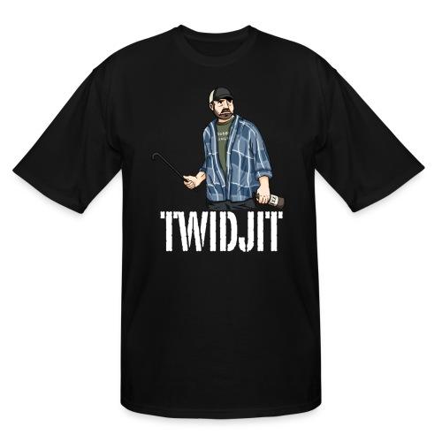 Jim Beaver [Twidjit] (DESIGN BY MICHELLE) - Men's Tall T-Shirt