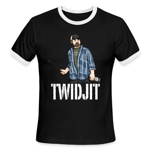 Jim Beaver [Twidjit] (DESIGN BY MICHELLE) - Men's Ringer T-Shirt