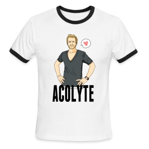 Sebastian Roché [Acolyte] (DESIGN BY MICHELLE) - Men's Ringer T-Shirt