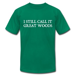 I Still Call It Great Woods - Men's T-Shirt by American Apparel