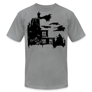Knight of Gotham - Men's T-Shirt by American Apparel