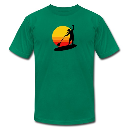 Sunset SUP - Men's  Jersey T-Shirt