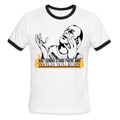 Hello My Name is Kripke (DESIGN BY MICHELLE) - Men's Ringer T-Shirt