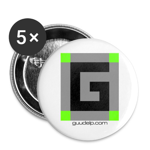 Guude Small Buttons - Buttons small 1'' (5-pack)