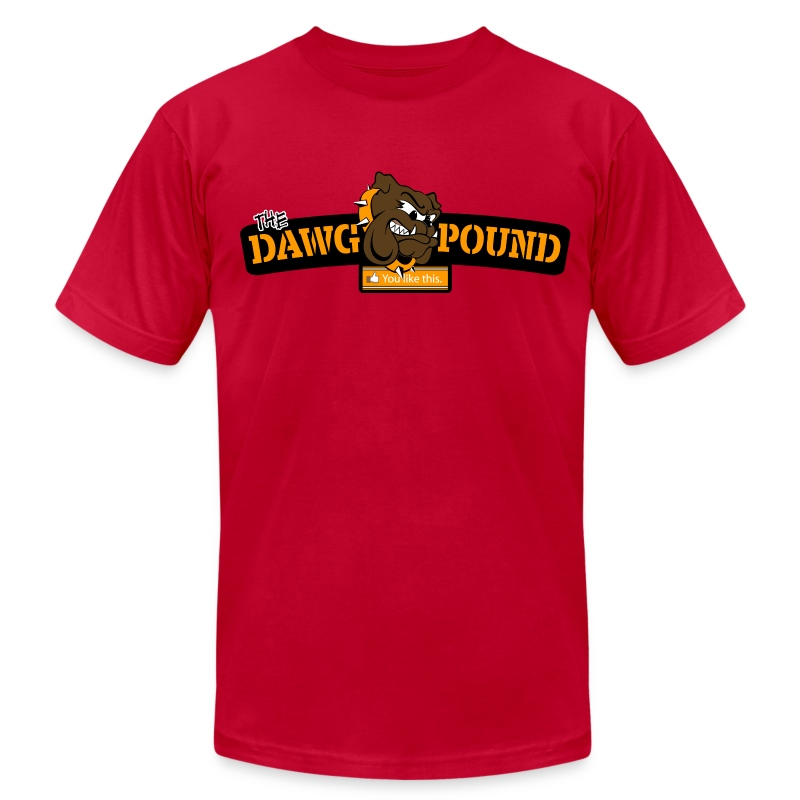you quot like quot the dawg pound t shirt spreadshirt