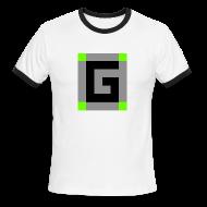 T-Shirts ~ Men's Ringer T-Shirt ~ Guude Men's Ringer T-Shirt