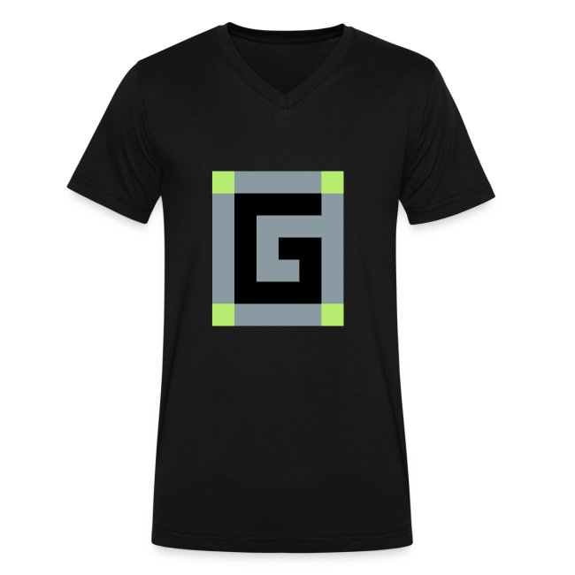 Guude Men's V-Neck T-Shirt by Canvas