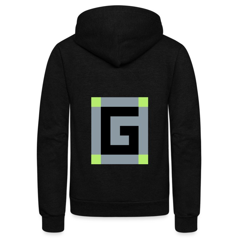 Guude Unisex Fleece Zip Hoodie - Unisex Fleece Zip Hoodie by American Apparel