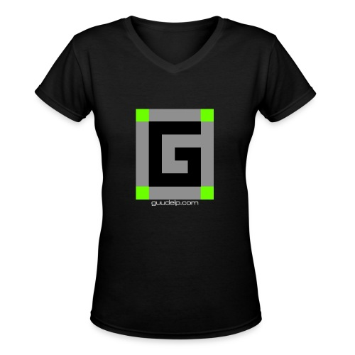Guude Women's V-Neck T-Shirt - Women's V-Neck T-Shirt