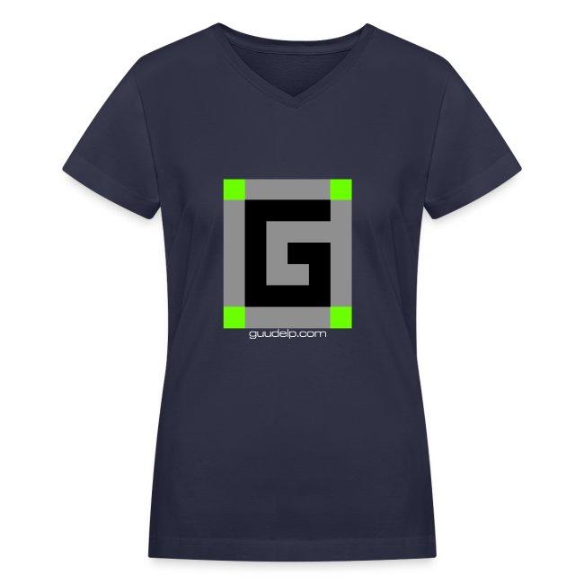 Guude Women's V-Neck T-Shirt