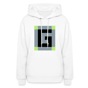 Guude Women's Hooded Sweatshirt (White) - Women's Hoodie