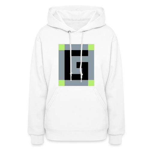 Guude Women's Hooded Sweatshirt (White) - Women's Hoodie
