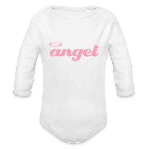 AngelGrow - Organic Long Sleeve Baby Bodysuit