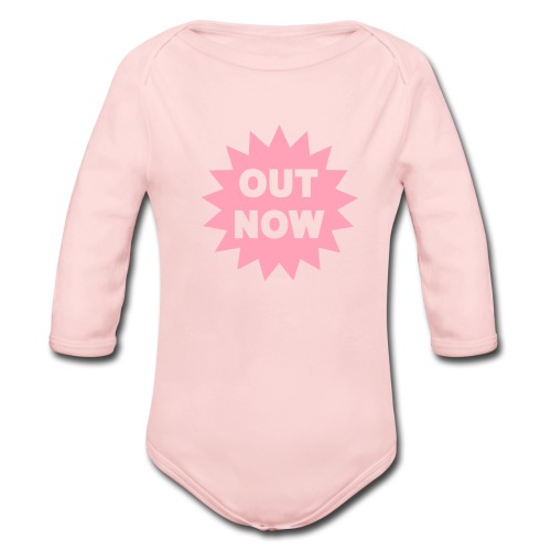 Out Now Grow - Organic Long Sleeve Baby Bodysuit
