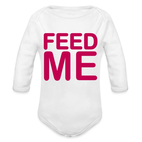 Feed Me Grow - Organic Long Sleeve Baby Bodysuit