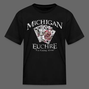 Michigan Euchre - Kids' T-Shirt
