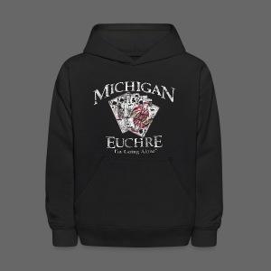 Michigan Euchre - Kids' Hoodie