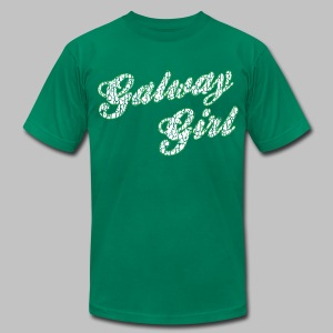 Galway Girl - Men's T-Shirt by American Apparel