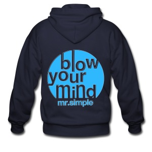[SJ] Blow Your Mind Mr. Simple - Men's Zip Hoodie