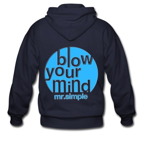 [SJ] Blow Your Mind Mr. Simple - Men's Zip Hoodie