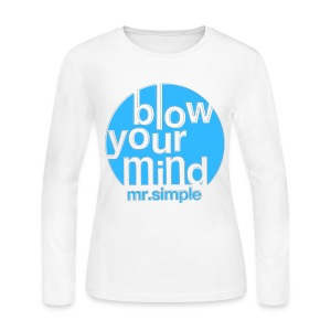 [SJ] Blow Your Mind Mr. Simple - Women's Long Sleeve Jersey T-Shirt