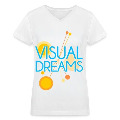 [SNSD] Visual Dreams - Women's V-Neck T-Shirt