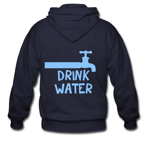 [SHINee] Drink Water - Men's Zip Hoodie