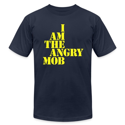 I am the Angry Mob - Men's Fine Jersey T-Shirt