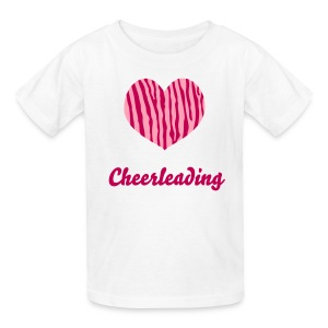 Love Cheerleading - Girls T-Shirt - Kids' T-Shirt