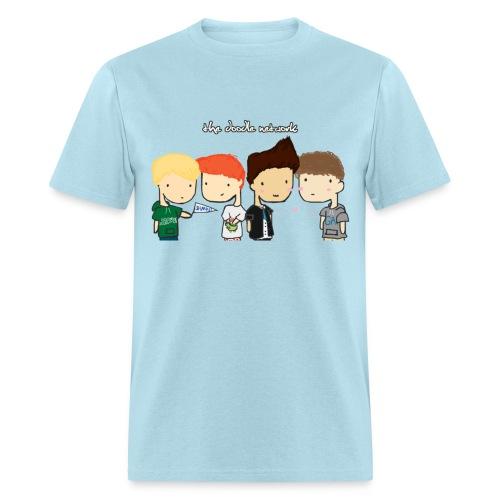 The Doodle Network Men's - Men's T-Shirt