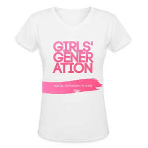 Girls' Generation - Today, Tomorrow, Forever - Women's V-Neck T-Shirt