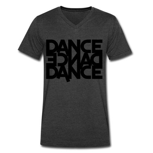 DanceDanceDance - Men's V-Neck T-Shirt by Canvas
