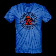 T-Shirts ~ Unisex Tie Dye T-Shirt ~ 1-UTLogo-TieDie-Full (Black & Red)