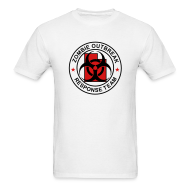 T-Shirts ~ Men's T-Shirt ~ 1-UTLogo-MStd-Full (Black & Red)