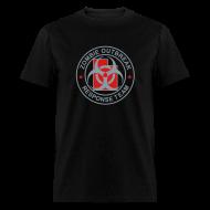 T-Shirts ~ Men's T-Shirt ~ 1-UTLogo-MStd-Full (Silver& Red)