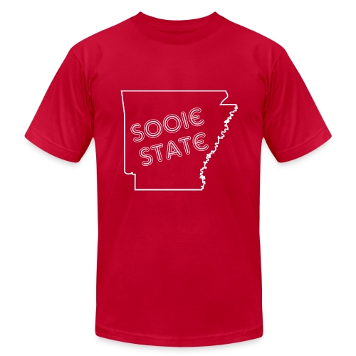 Men's Sooie State Tee - Men's Fine Jersey T-Shirt