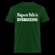 T-Shirts ~ Men's T-Shirt ~ Niagara Falls is Energizing Shirt by New York Old School