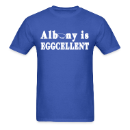 T-Shirts ~ Men's T-Shirt ~ Albany is Eggcellent Shirt by New York Old School
