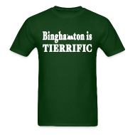 T-Shirts ~ Men's T-Shirt ~ Binghamton is Tierrific Shirt by New York Old School