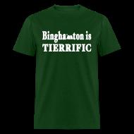 T-Shirts ~ Men's T-Shirt ~ Binghamton is Tierrific Shirt by New York Old School