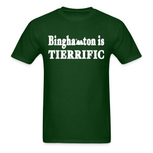Binghamton is Tierrific Shirt by New York Old School - Men's T-Shirt