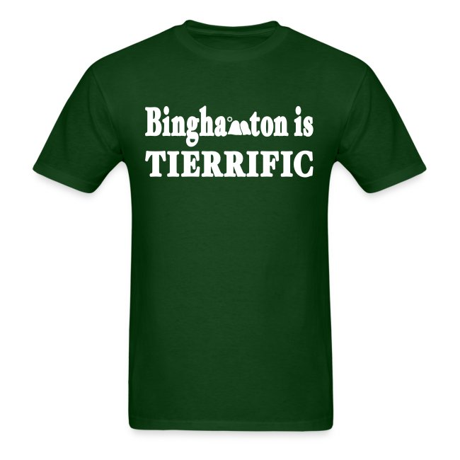 Binghamton is Tierrific Shirt by New York Old School
