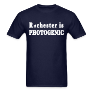T-Shirts ~ Men's T-Shirt ~ Rochester is Photogenic Shirt by New York Old School