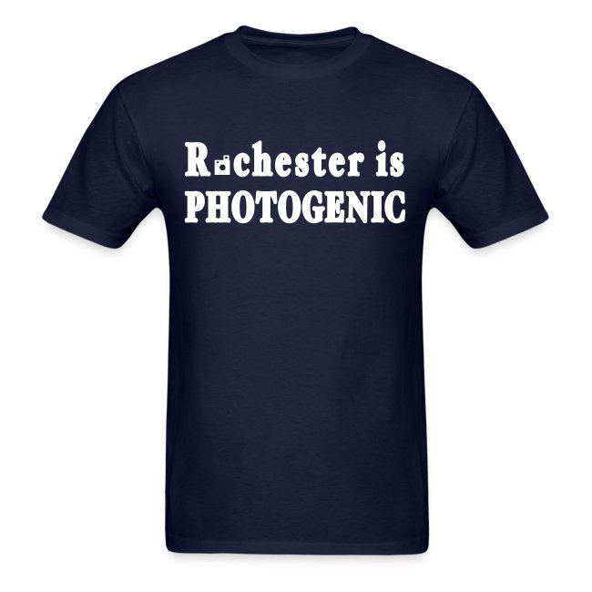 Rochester is Photogenic Shirt by New York Old School