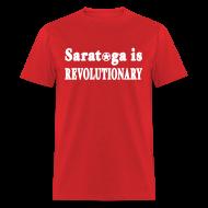 T-Shirts ~ Men's T-Shirt ~ Saratoga is Revolutionary Shirt by New York Old School