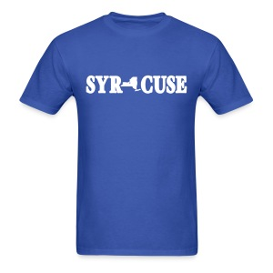 Syracuse Shirt by New York Old School - Men's T-Shirt