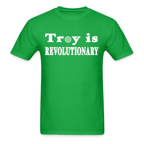 Troy is Revolutionary Shirt by New York Old School - Men's T-Shirt