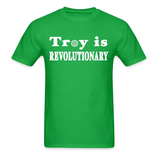 Troy is Revolutionary Shirt by New York Old School