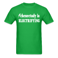 T-Shirts ~ Men's T-Shirt ~ Schenectady is Electrifying Shirt by New York Old School